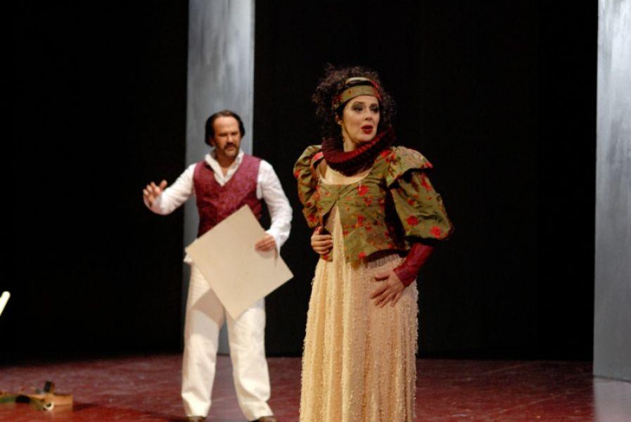 v.l.: Jorge Perdigón (a.G.), Marcela de Loa (a.G.)