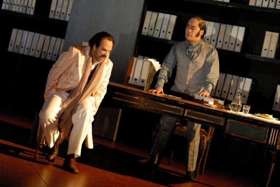 v.l.: Jorge Perdigón (a.G.), Kwang-Keun Lee