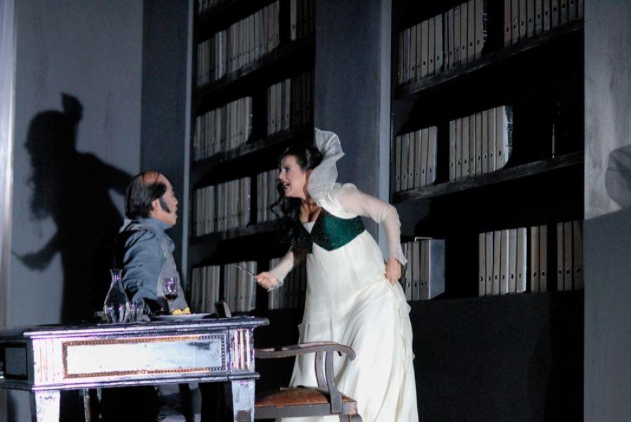 v.l.: Kwang-Keun Lee, Marcela de Loa (a.G.)