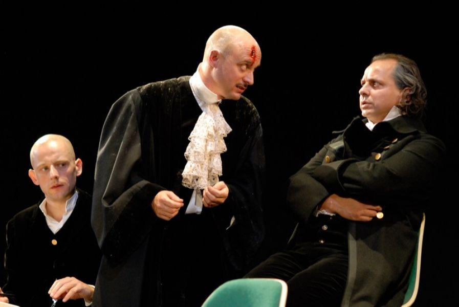 v.l.: Andreas Uhse, Christian Taubenheim, Gunther Nickles